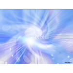 Abstract background of blue star burst 64239