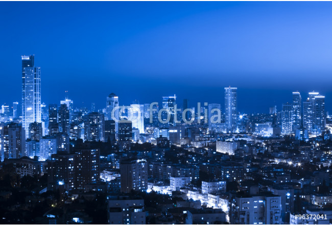 Cityscape at night 64239