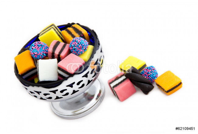 Licorice Allsorts in a Bowl 64239