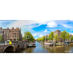 Canal and bridge in Amsterdam 64239