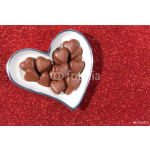 Bowl with Choclate Hearts 64239