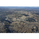 Italy, Lazio, aerial view of Rome and Tevere river 64239