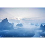 sky,mountains and landscape of Guilin 64239