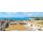 Panoramic view of Kourion archaeological site. Limassol District 64239
