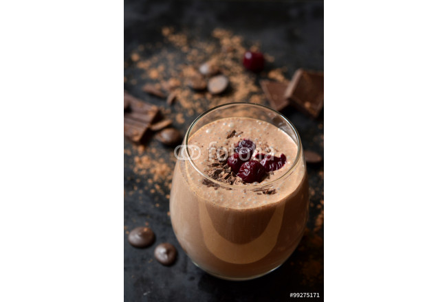 "Delicious chocolate smoothie ""Black forest"". 64239"