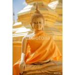 Buddha sculpture in thailand temple 64239