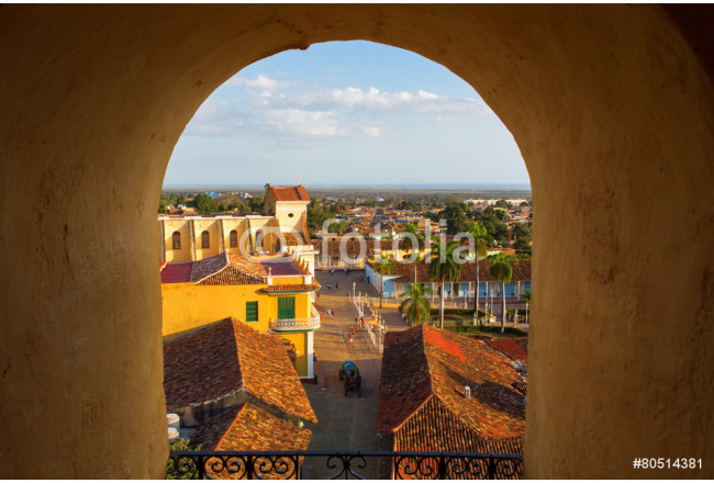 View of Trinidad, Cuba from up 64239