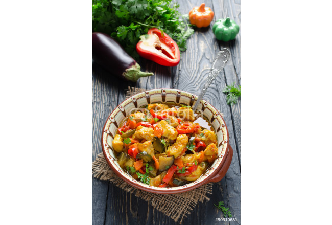 Stew with chicken and vegetables 64239