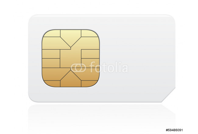 sim card vector illustration 64239