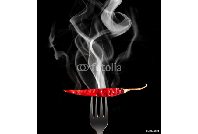 Chilli pepper with smoke 64239