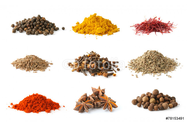 Set of spices 5 64239
