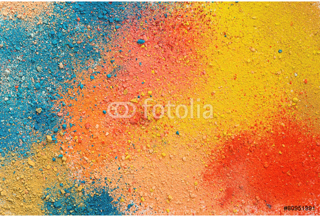 Colorful background of pastel powder 64239