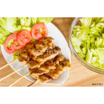 Pork Barbecue With Salad 64239