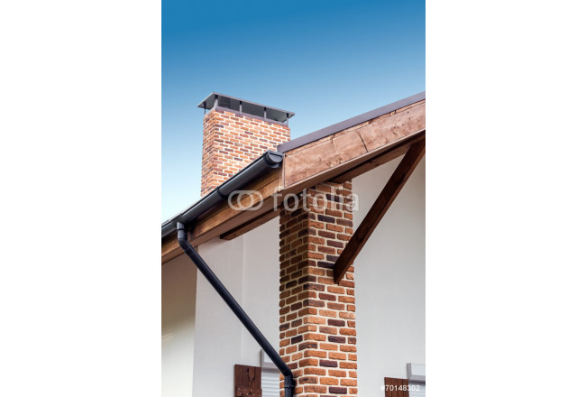 Chimney and roof 64239