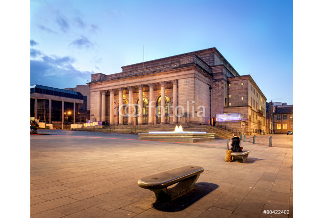 Building of Sheffield city Hall, UK 64239