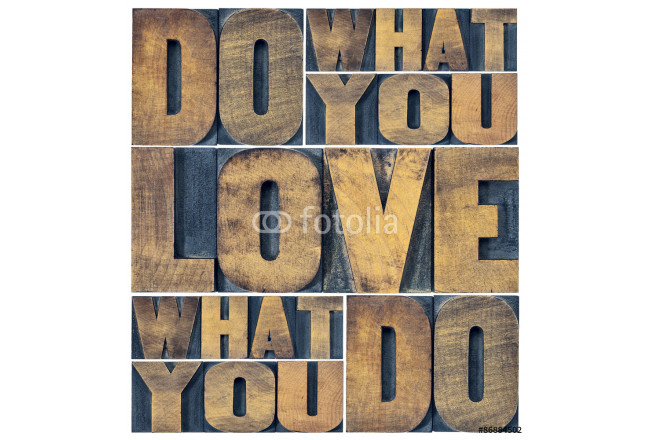 do what you love word abstract 64239