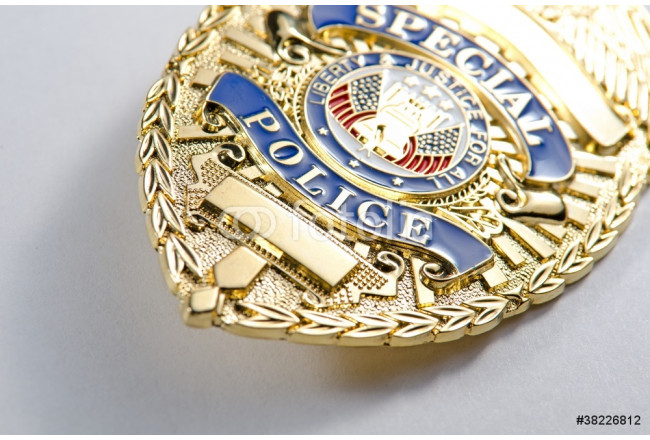 Police Badge 64239