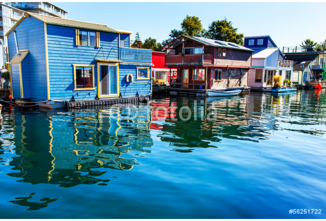 Floating Home Village Houseboats Inner Harbor Victoria 64239