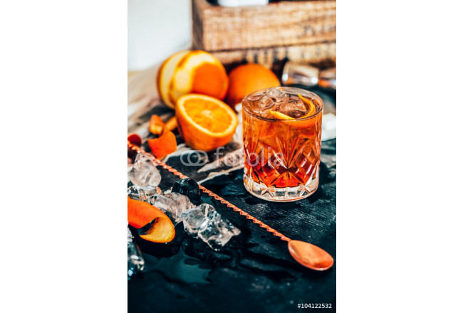 Old Fashioned cocktail 64239