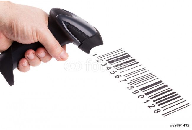 Bar code reader (scanner) isolated on white background 64239