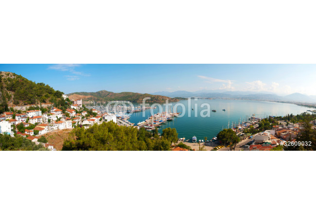 Panoramic view of Fethiye 64239