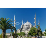 View of the Blue Mosque (Sultanahmet Camii) in Istanbul, Turkey 64239
