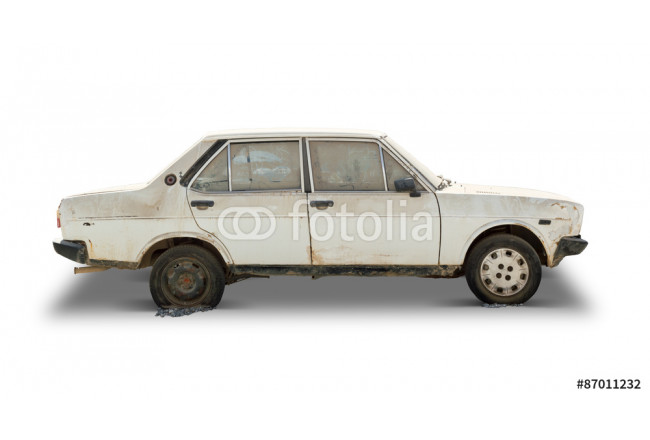 Painting Old Car (Clipping Path Included) 64239