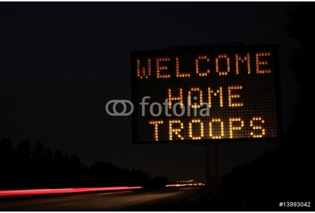 Welcome home sign 64239