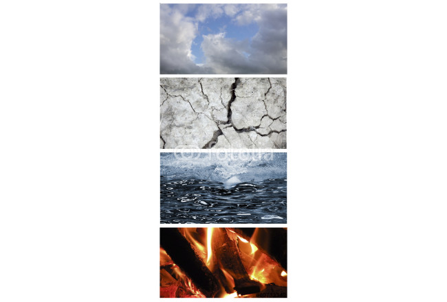 Collage of the four elements 64239