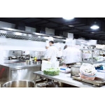 modern kitchen and busy chefs 64239