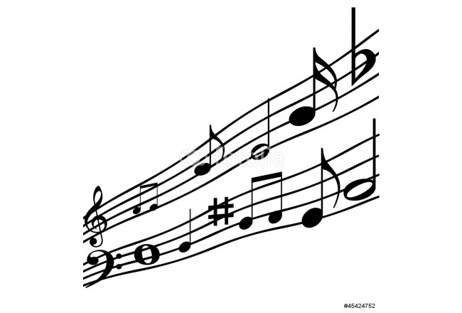 Music notes. 64239