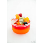 Strawberry jelly with fresh fruit 64239