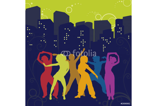 the dancing girls in a city 64239