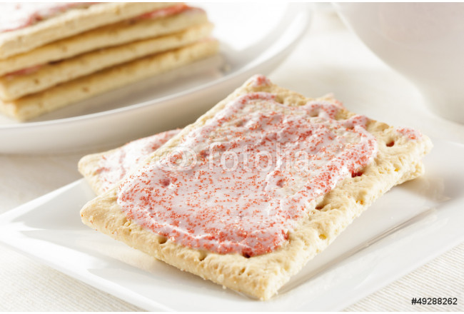 Hot Strawberry Toaster Pastry 64239