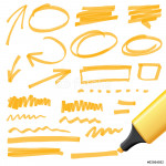 one click change color - vector highlighter elements 64239