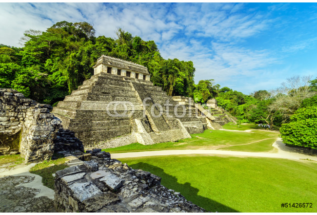 Temples in Palenque 64239