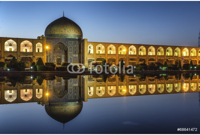 Sheikh lotf allah mosque in Isfahan Iran 64239