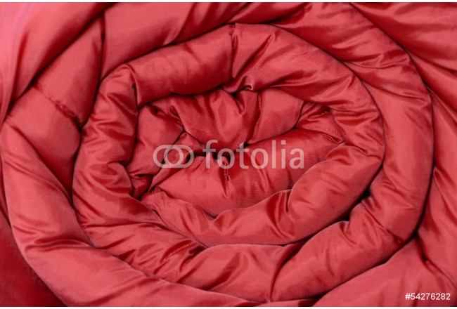 sleeping bag wrapped red texture 64239