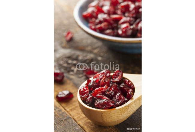 Organic Red Dried Cranberries 64239