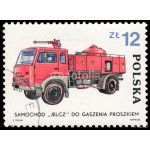 Stamp printed in Poland shows development of the Fire Brigade 64239