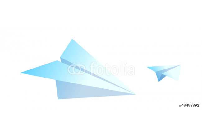 vector icon paper airplane 64239