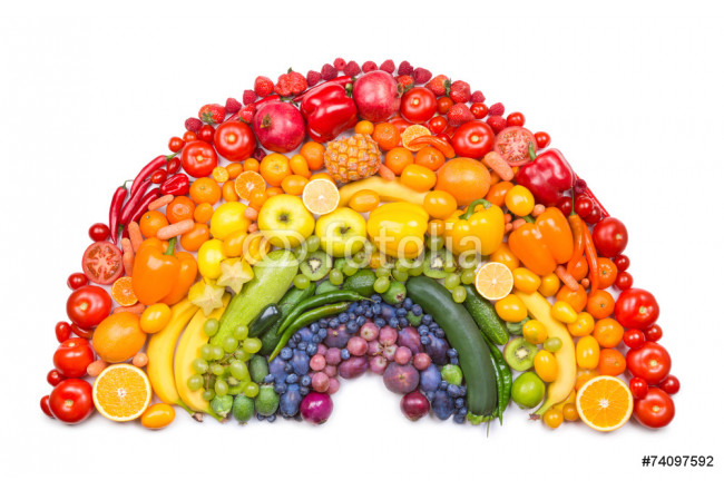 fruit and vegetable rainbow 64239
