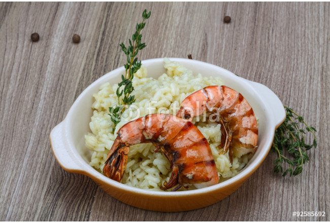 Risotto with prawn 64239