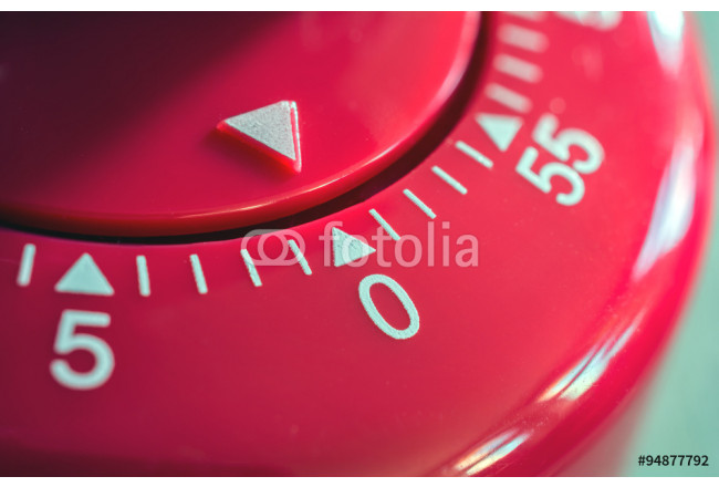 Macro Of A Kitchen Egg Timer - 0 Minutes - 1 hour 64239