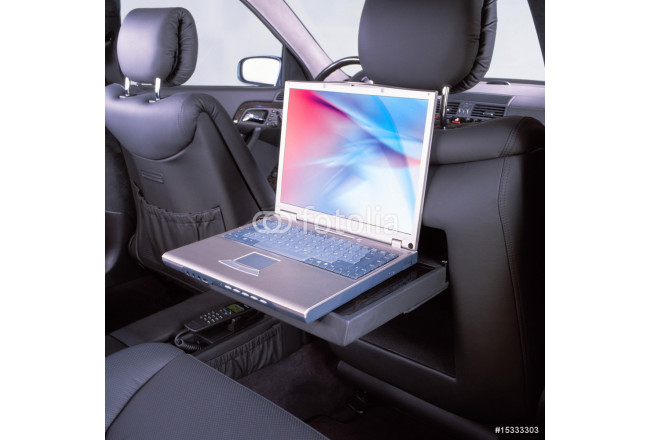 car and laptop 64239