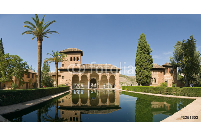 Quadro contemporaneo alhambra pool 64239