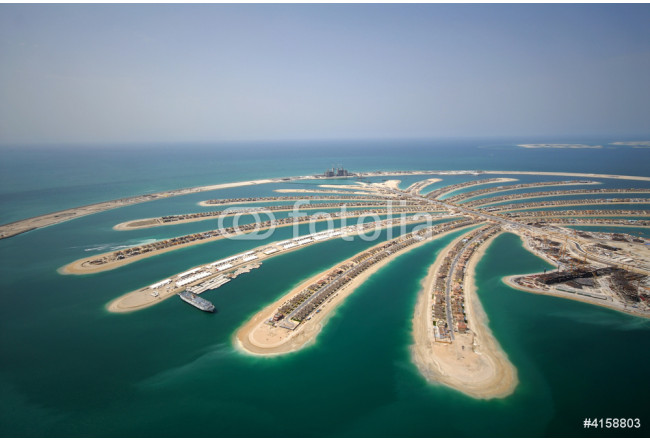 Development Of The Palm Jumeirah In Dubai 64239
