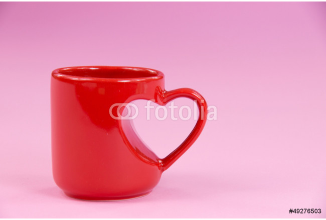 Painting Valentine coffee cup 64239