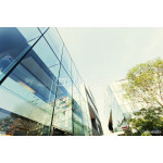 modern office building exterior and glass wall 64239