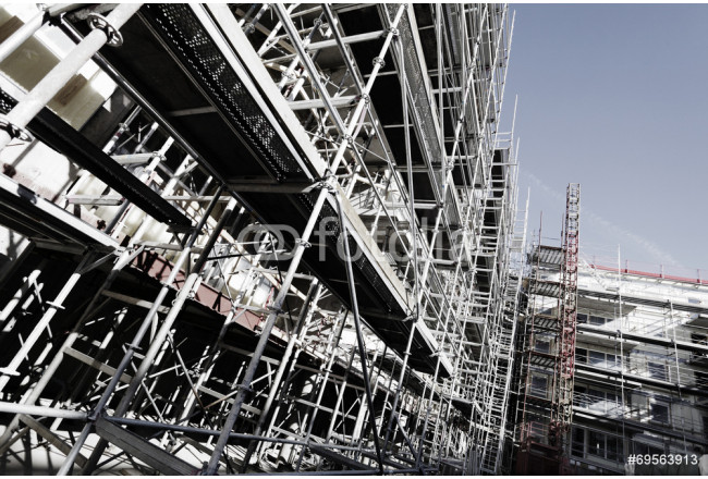 scaffolding constructions, super wide view 64239